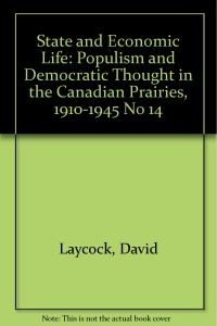 Populism and Democratic Thought Cover
